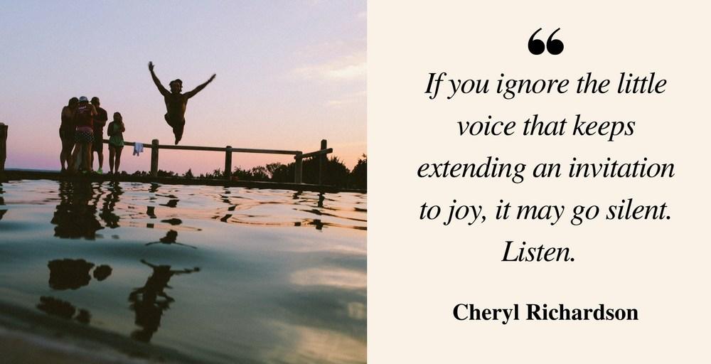Responding To An Invitation To Joy