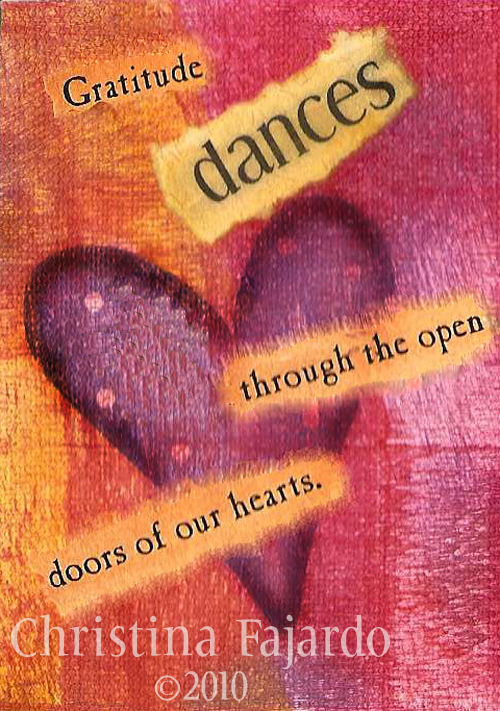 the gratitude dance