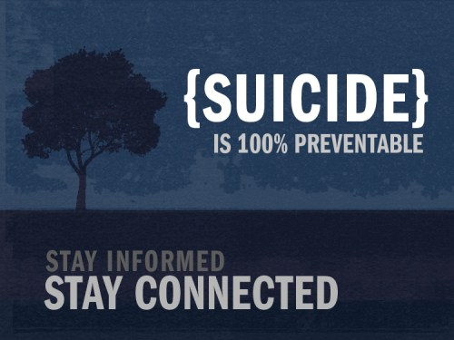 suicide stay informed stay connected