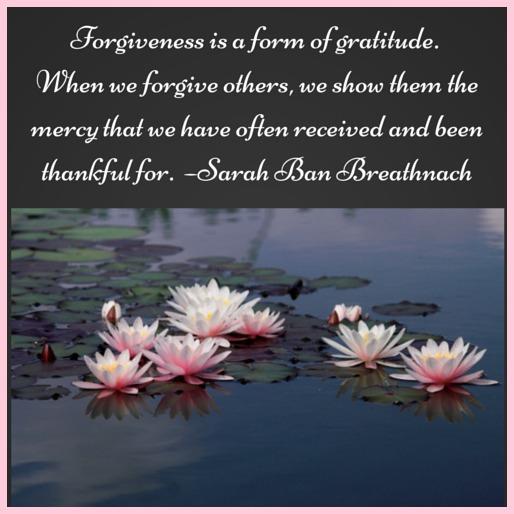 forgiveness and gratitude