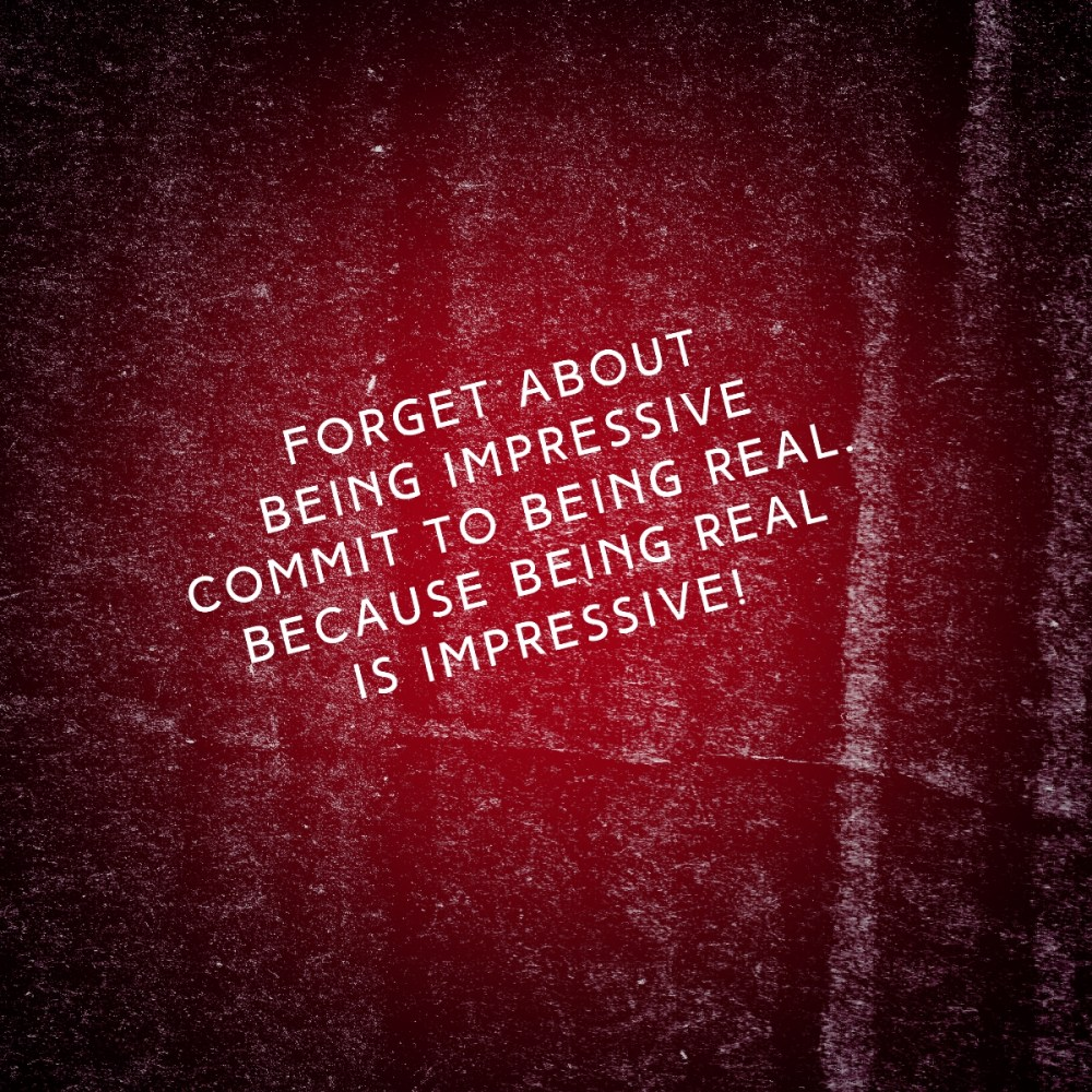 The Practice Of Being Real #MondayMusings