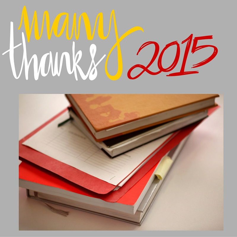 Gratitude For A Lesson Learned in 2015