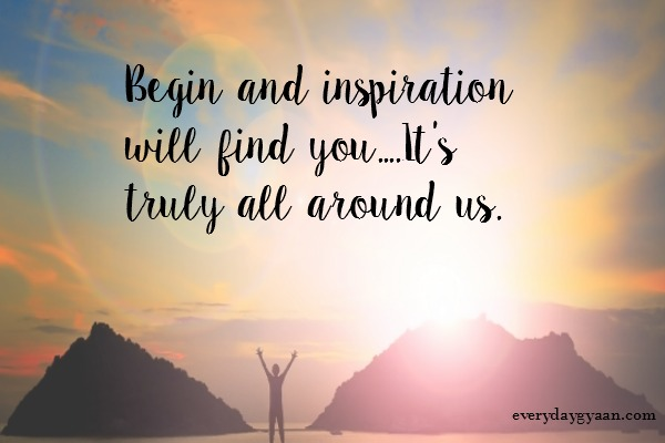 I Am Inspired #MondayMusings