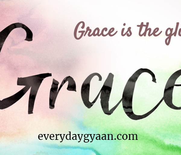 Grace Is The Glue
