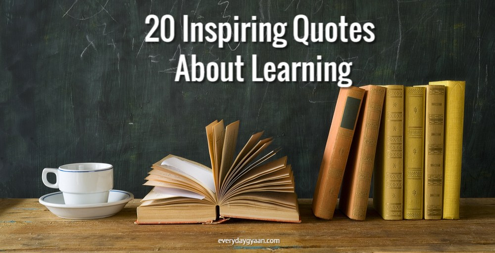 20 Inspirational Quotes About Learning