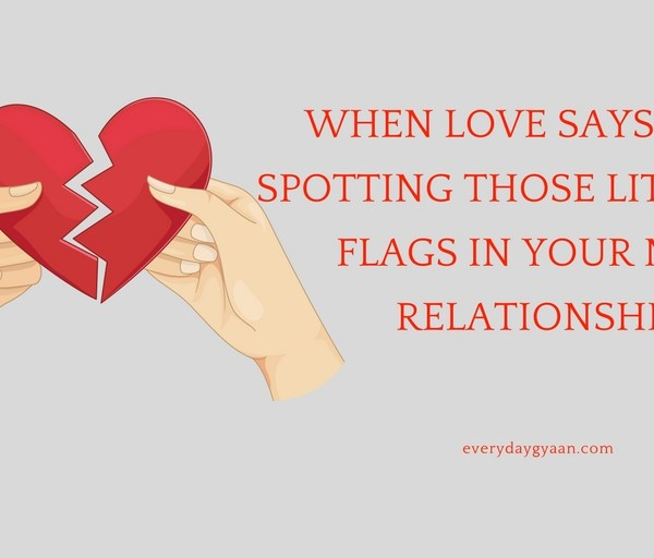When Love Says Stop: Spotting Those Little Red Flags in Your New Relationship