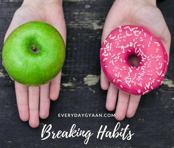 Breaking Habits #MondayMusings