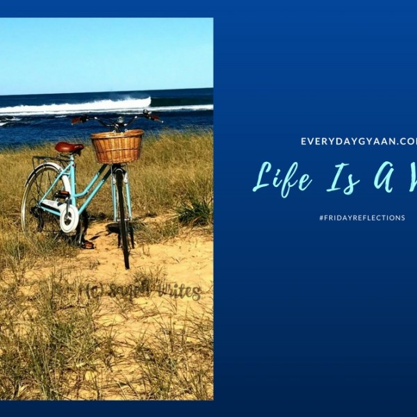 Life Is A Verb #FridayReflections