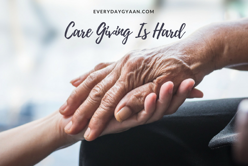 Care Giving Is Hard #writebravely #MondayMusings