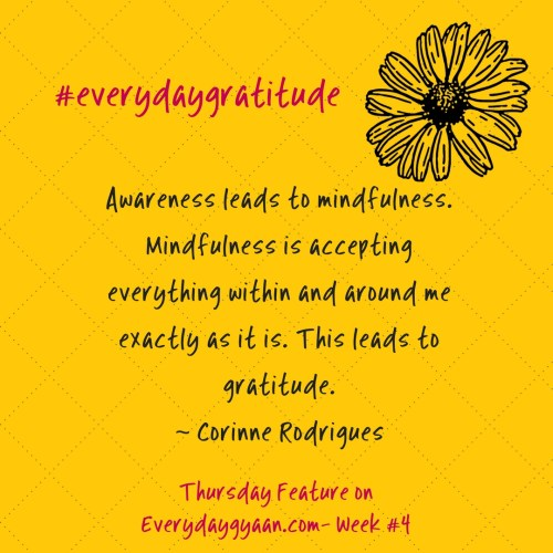 #everydaygratitude week 4
