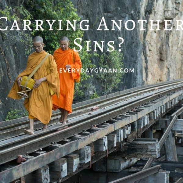 Carrying Another's Sins? #MondayMusings