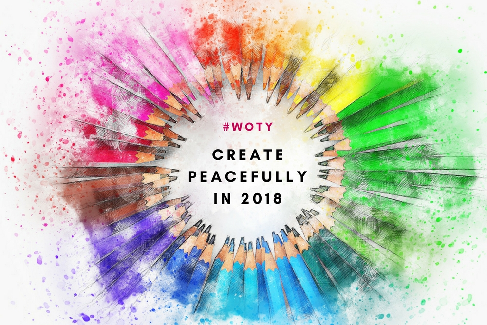 What's Your Word For 2018? #woty2018 #woty