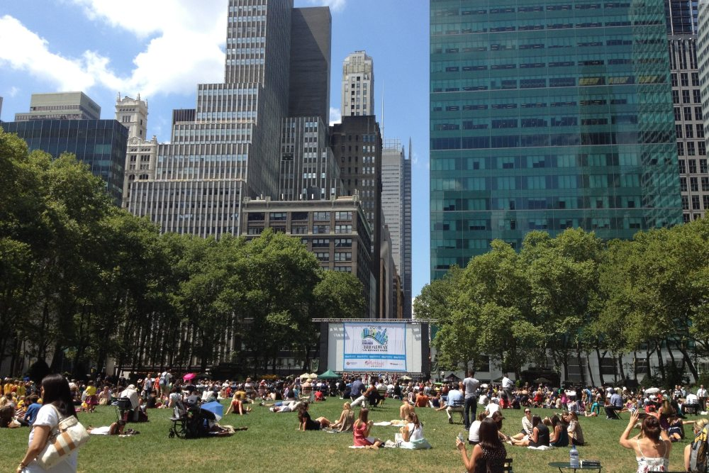 The Best Parks in NYC for Open-Air Family Dining