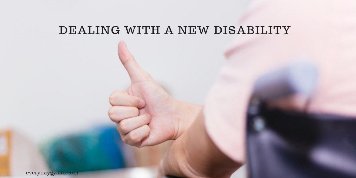 Dealing with a New Disability