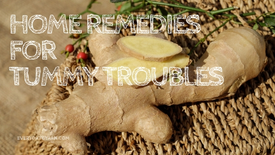 Home Remedies For Tummy Troubles