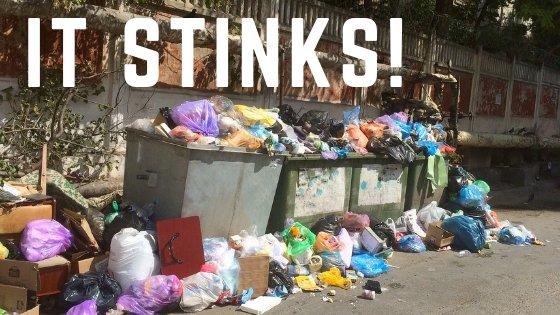 it stinks