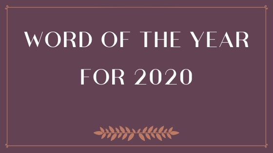 word of the year for 2020