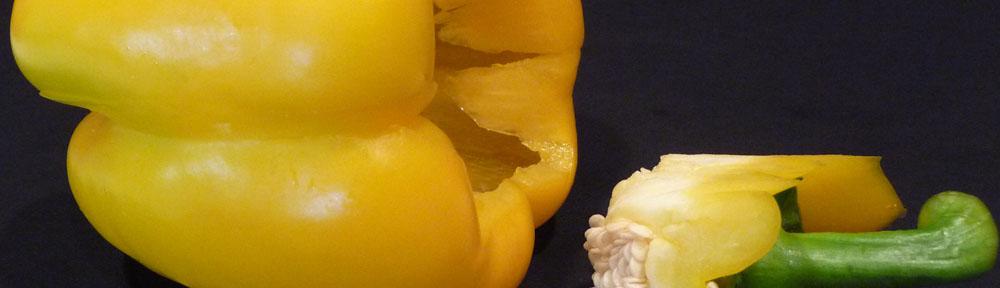A Cored Yellow Pepper (c) jfhaugen
