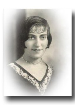 Auntie Esther, 1929 Wedding Photo
