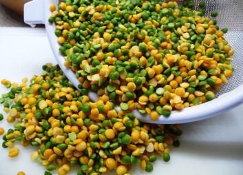 Green & Yellow Split Peas (c) jfhaugen