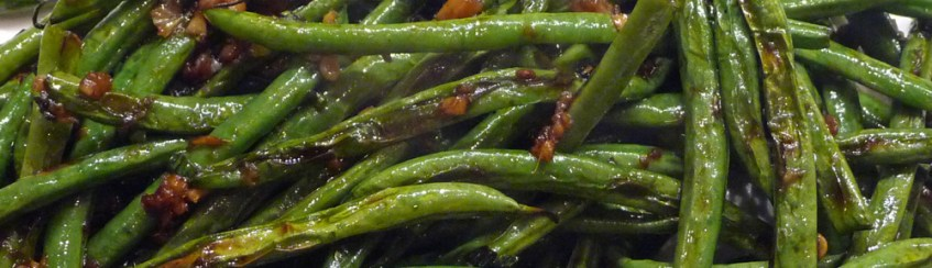 Wrinkled Green Beans – Gingery, Garlicky Good