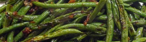 Wrinkled Green Beans – Gingery, Garlicky Good