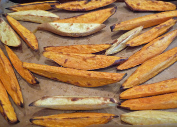 Roasted Sweet Potatoes and Yams – Thank You, Yotam Ottolenghi