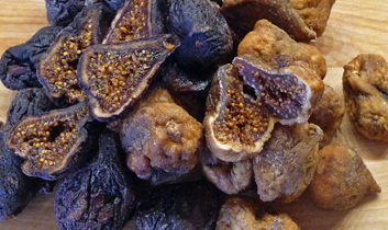 Fig Jam — from Dried Black Mission & Calimyrna Figs