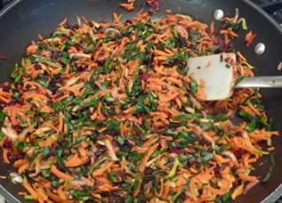 Veggie Patties w/ Quinoa, Black Beans & Lots of Veggies