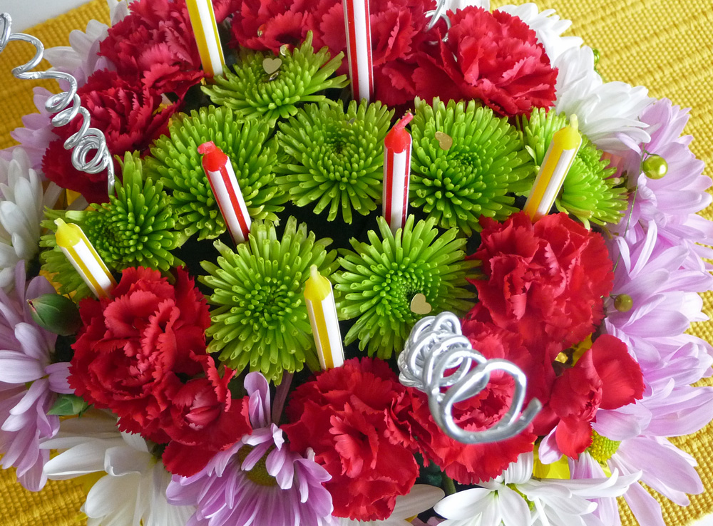 How To Use Flower Picks On Cakes