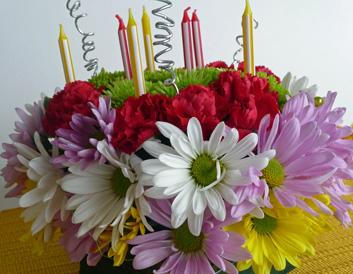 Excellent Fresh Flower Birthday Cake No Flour All Flowers Funny Birthday Cards Online Inifofree Goldxyz
