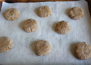 Crispy Ginger Molasses Cookies
