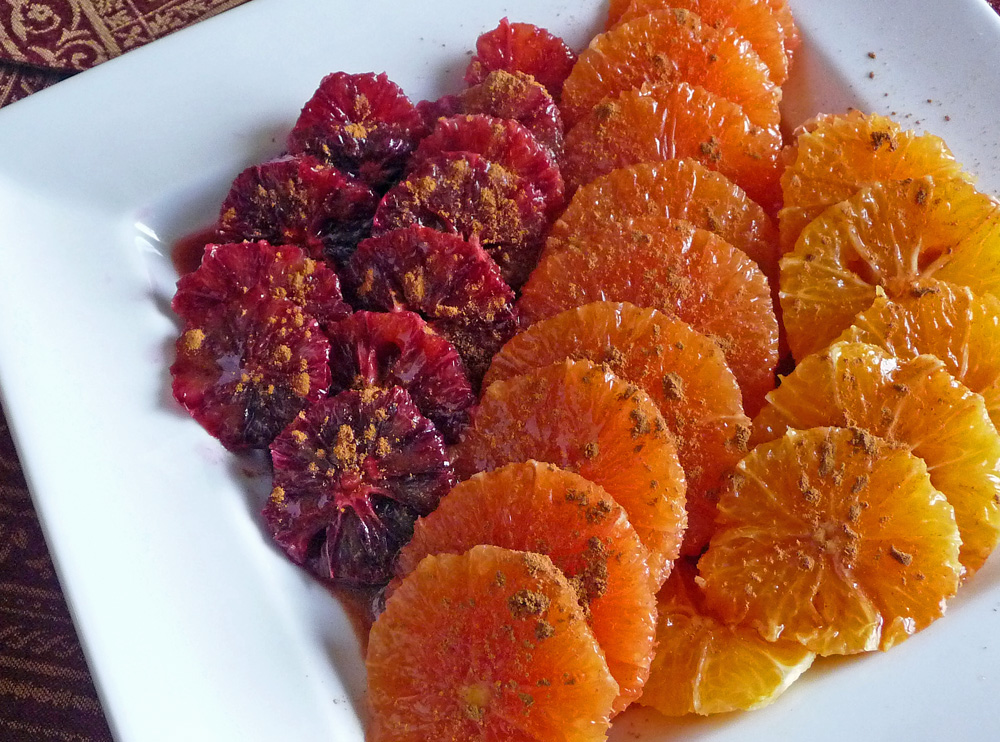moroccan cinnamon oranges a perfect dessert