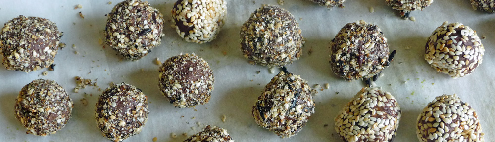 Chocolate Roasted Tahini Truffles – Rich, Dark, Distinctive