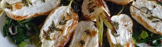 Roasted Japanese Turnips with Greens – Hakueri Turnips