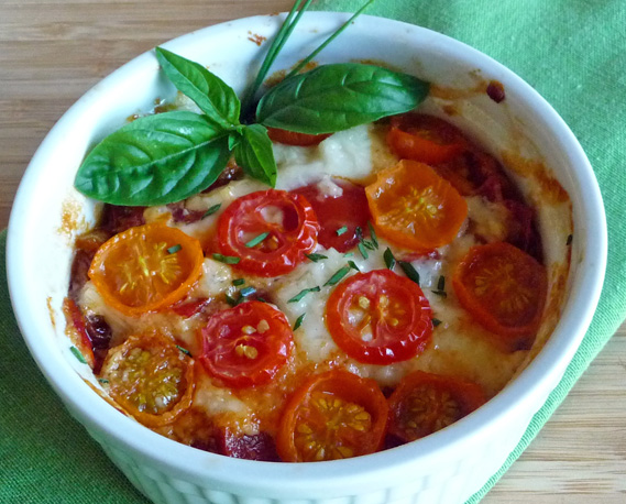 Crustless Southern Tomato Pie Celebrates Summer Tomatoes