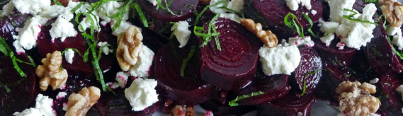 Balsamic Glazed Roasted Beet Salad – Gorgeous, Healthy, Delicious