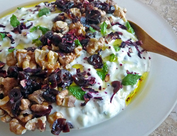 Persian Cucumber Yogurt – Mast-O Khiar Dressed for the Holidays