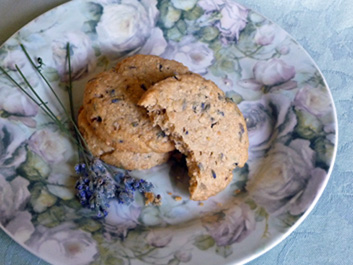 Lavender Honey Almond Shortbread – Tender, Crisp and Crumbly Good