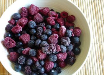 Three Berry Chia Pudding