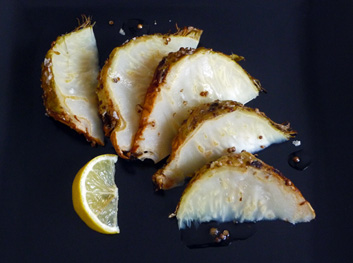 Celeriac Roasted Whole with Coriander and Olive Oil