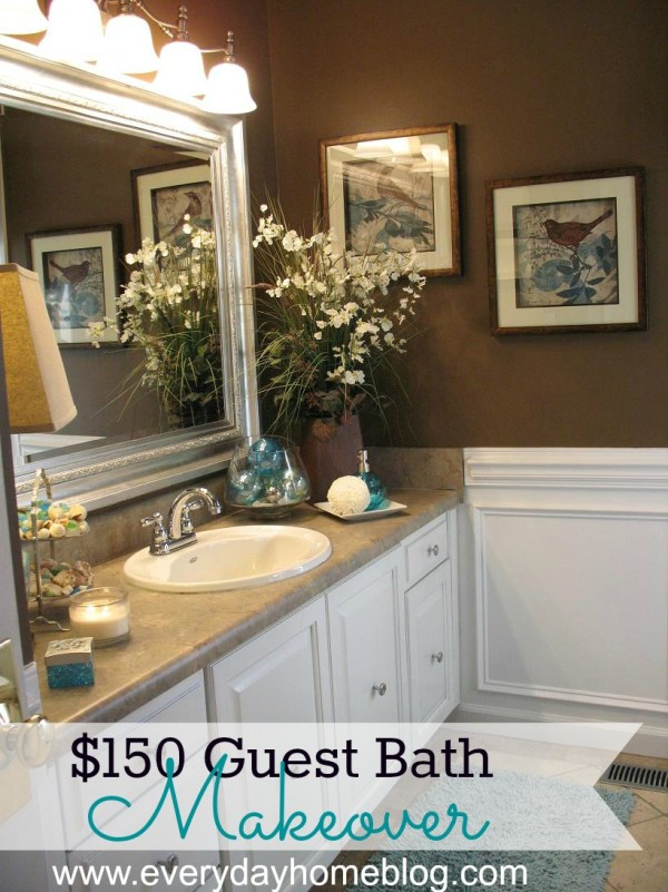Bathroom Makeover at The Everyday Home