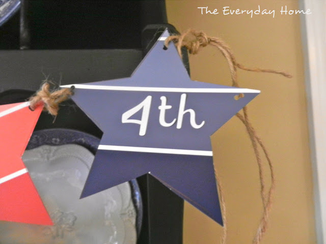 July 4th Decor by The Everyday Home