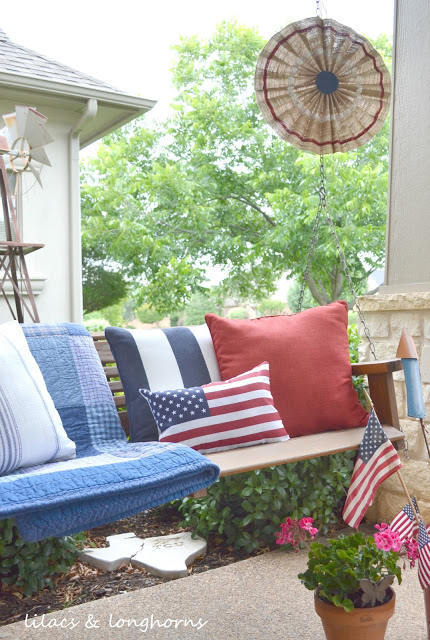 July 4th Decor at The Everyday Home