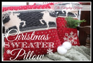 Christmas Sweater Pillows