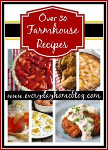 Farmhouse Friday {Farmhouse Recipes}