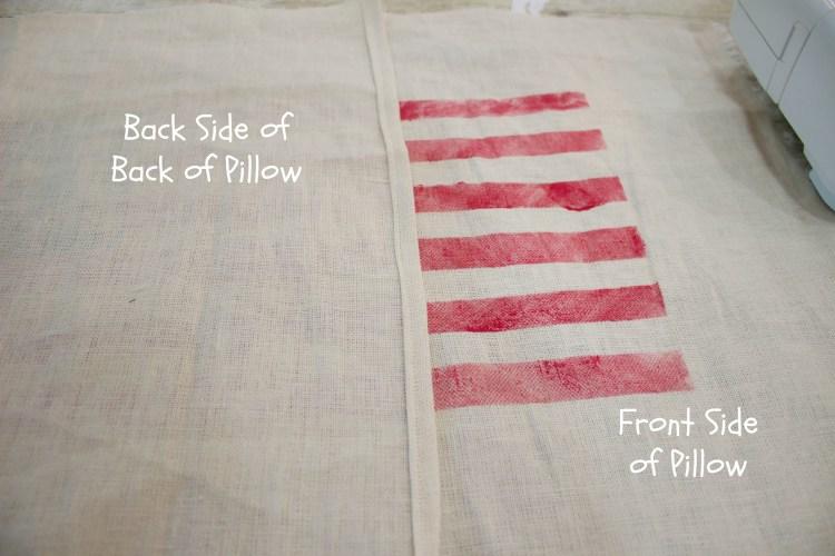 Sewing an Envelope Pillow