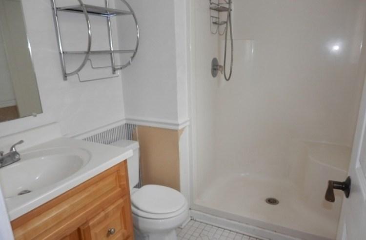 Renovated Property Bathroom Before | The Everyday Home | www.everydayhomeblog.com