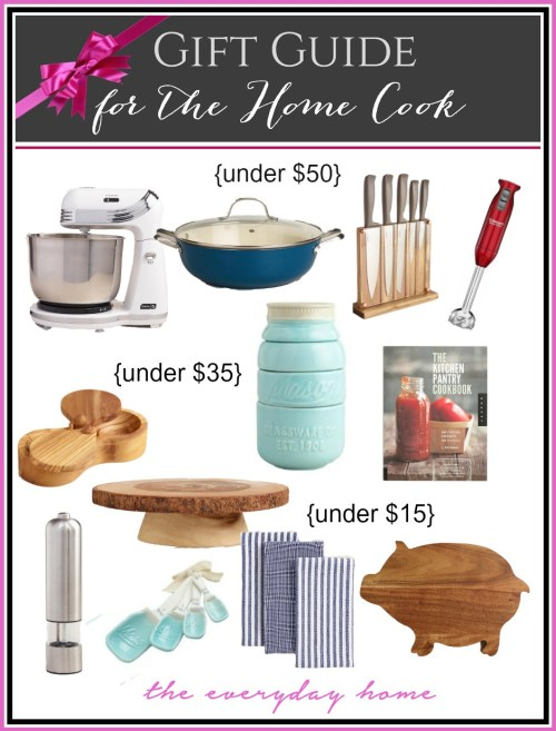 Ultimate Gift Guide for the Home Cook | The Everyday Home | www.everydayhomeblog.com