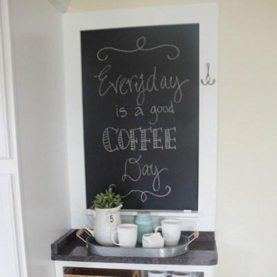 Make a Custom Chalkboard